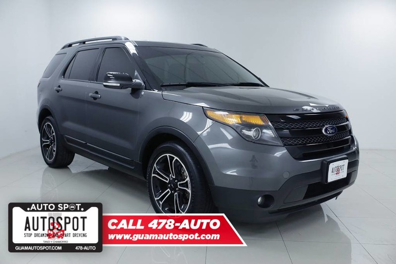 pre owned 2015 ford explorer sport sport utility in hagatna 16g214b guam autospot. Black Bedroom Furniture Sets. Home Design Ideas